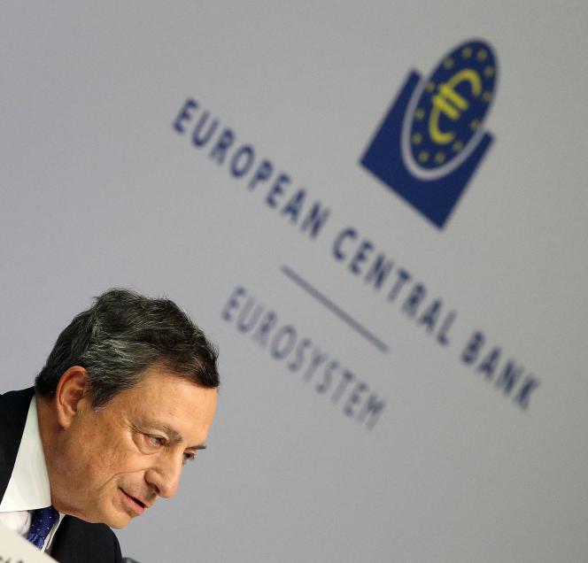 Le président de la Banque centrale européenne, Mario Draghi, le 8 décembre.