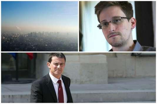 Valls candidat à la primaire de la gauche, pollution en France et révélations des documents Snowden dans l'actualité de la semaine.