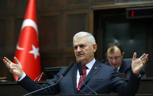 Le Premier ministre turc Binali Yildirim, le 29 novembre, à Ankara.