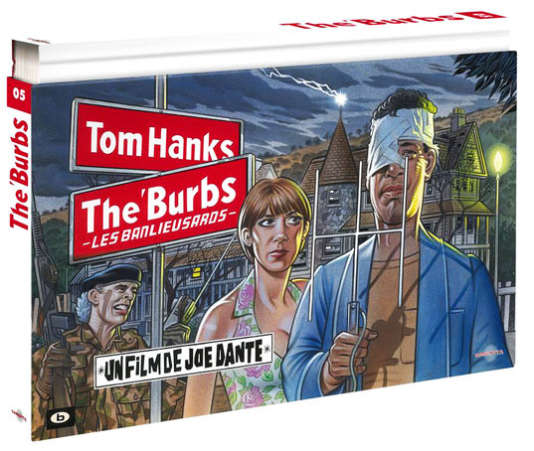 Coffret The Burbs, les banlieusards, de Joe Dante.