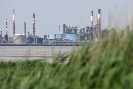 La raffinerie de Donges, en Loire-Atlantique, en juin.