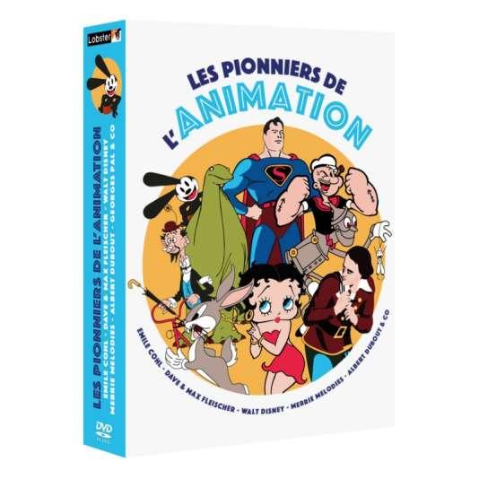 Coffret 4 DVDLes Pionniers de l'animation