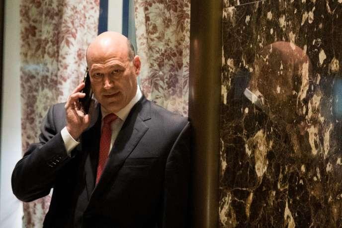 Gary Cohn à la Trump Tower à New York, le 29 novembre.