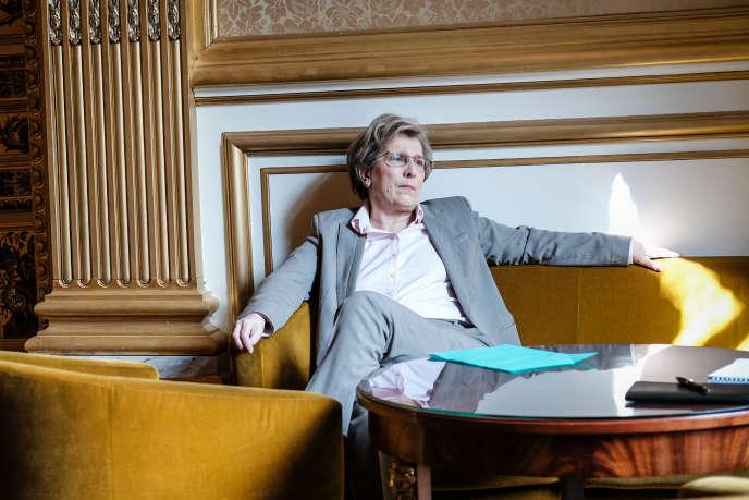 Marie-Noëlle Lienemann, au Sénat, le 22 mars.