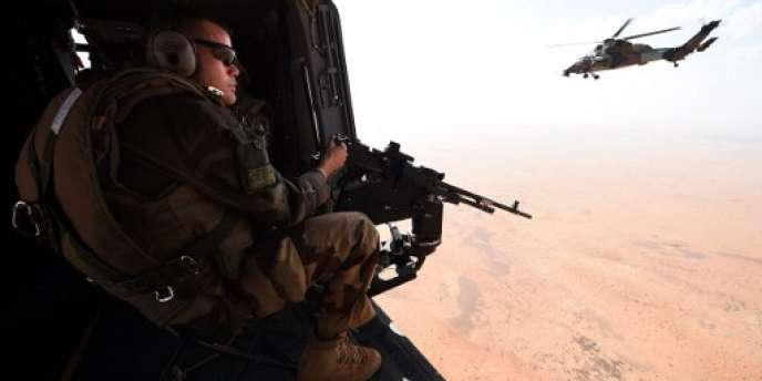 Un soldat français de l'opération« Barkhane» au Mali, en mars 2016.