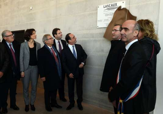 François Hollande a inauguré samedi 10 décembre Lascaux 4.