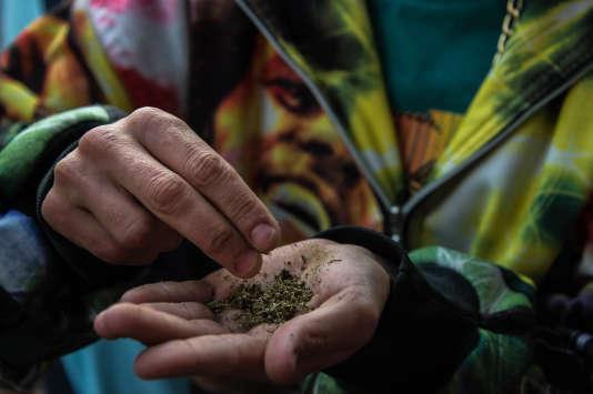 Une marche en faveur de la légalisation du cannabis a eu lieu en mai, à Sao Paulo.
