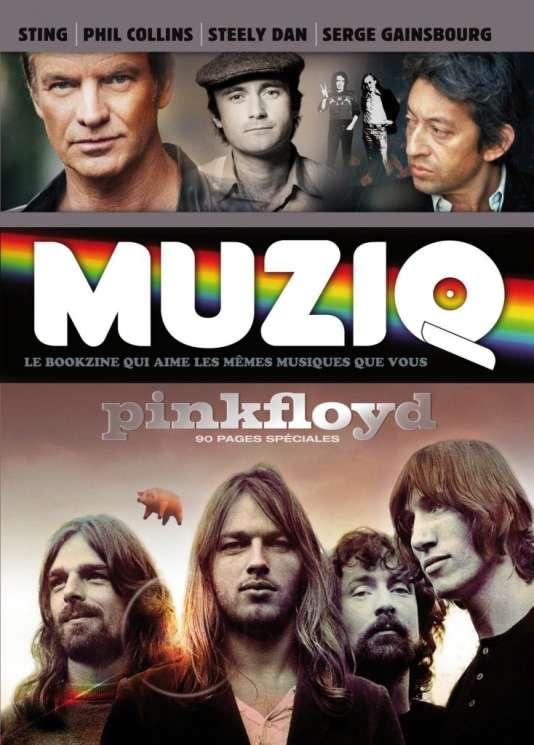 Couverture du numéro 6 de la revue« Muziq», nouvelle série.