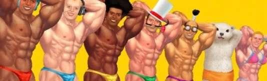 « Muscle March», l'un des rares« gros» jeux totalement originaux du WiiWare.