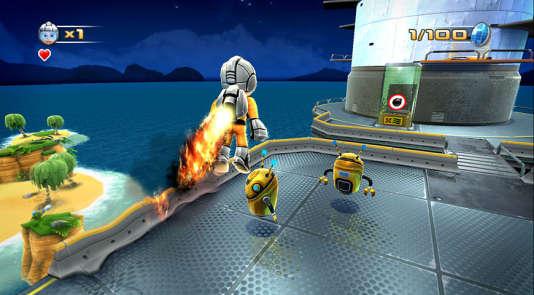 «Jett Rocket», de loin l'un des plus beaux jeux WiiWare.
