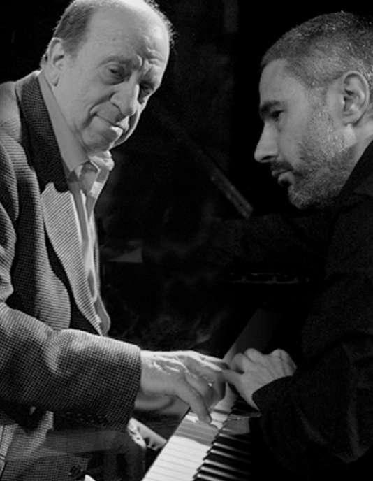 Les pianistes Martial Solal et Jean-Michel Pilc.