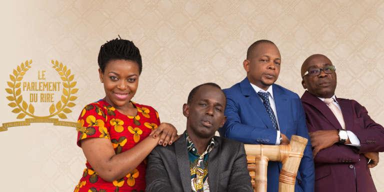 Autour du président Mamane (assis), ses « vices-présidents », Michel Gohou, Digbeu Cravate et Charlotte Ntamack.
