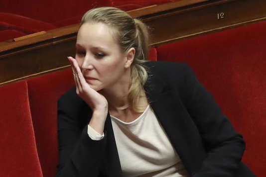 Marion Marechal-Le Pen à l'Assemblée nationale le 9 décembre.