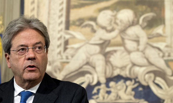 Paolo Gentiloni, le 11 décembre à Rome.