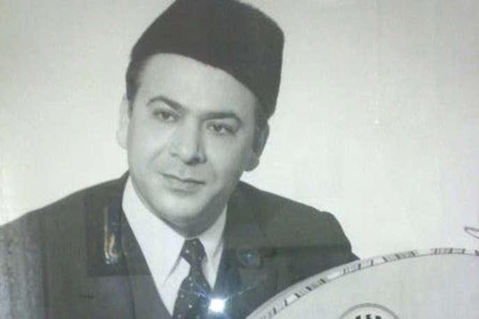 Mohamed Tahar Fergani, en 1958.