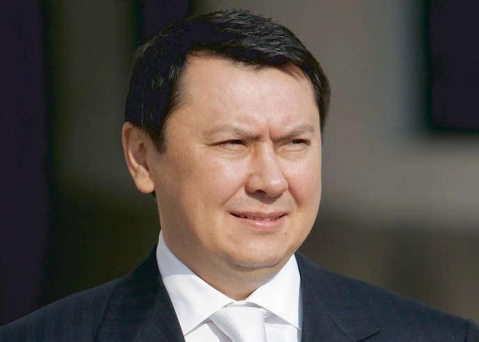 L'ancien gendre du président kazakh, Rakhat Aliev (photo non datée).