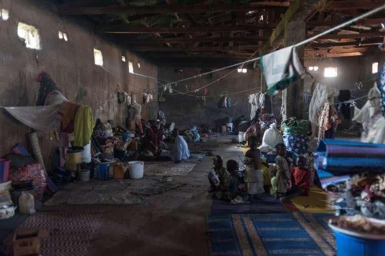 Le 7 décembre dans un camp de réfugiés à Maiduguri, dans le nord-est du Nigeria.