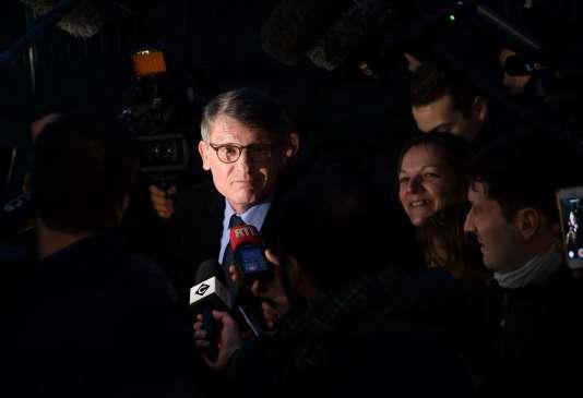Vincent Peillon, candidat PS à la primaire à gauche, le 12 décembre 2016.