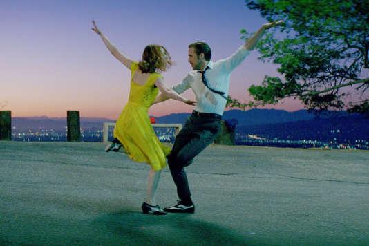 Emma Stone et Ryan Gosling dans « La La Land».