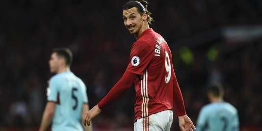 L'attaquant de Manchester United Zlatan Ibrahimovic, le 29 octobre 2016.