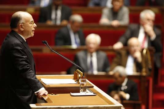 Bernard Cazeneuve, le 13 décembre, à l'Assemblée nationale.