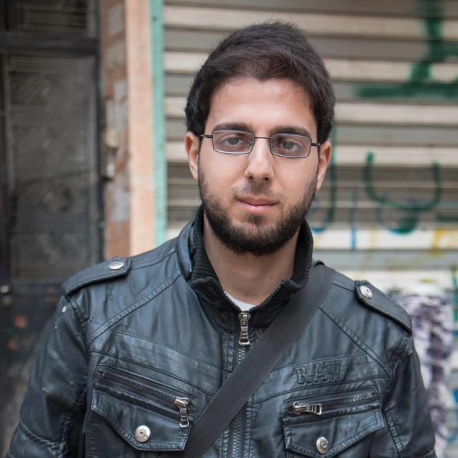 Une photo non datée du journaliste Karam Al-Masri.