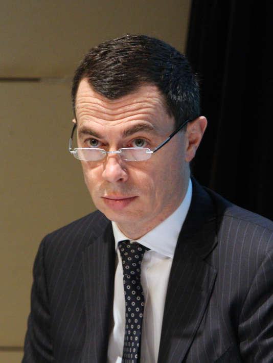 Jean-Pierre Mustier, le nouveau patron français d'UniCredit.