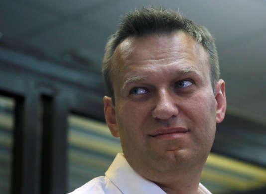 Figure de l'opposition russe, Alexeï Navalny sera candidat à l'élection présidentielle en 2018.