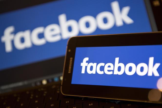 Le logo de Facebook.