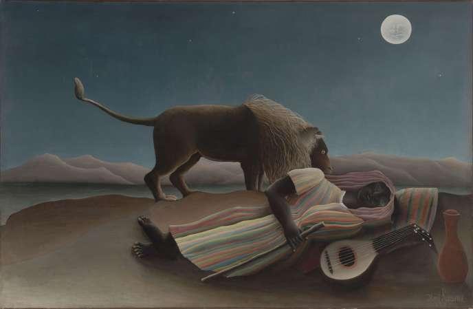 « La Bohémienne endormie », d'Henri Rousseau (1897).