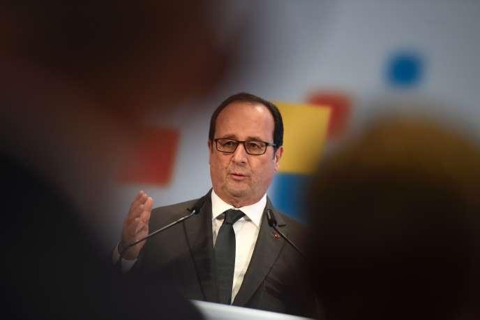 François Hollande, à Berlin, le 13 décembre.