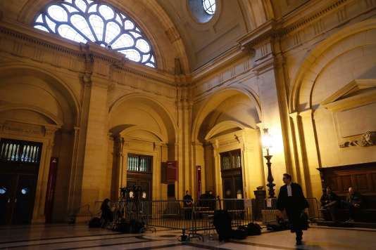 Le palais de justice de Paris, le 14 décembre.
