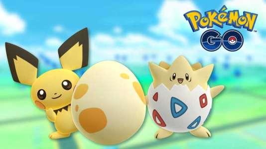 Pichu et Togepi, deux des nouveaux Pokémons disponibles dans «Pokémon Go».