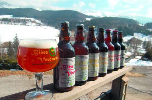 Une bière produite avec de l'eau du Vercors ! A consommer avec modération, bien entendu.