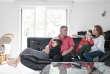 """Anne et Jean-Henri Bigot, à Carquefou (Loire-Atlantique). Mathis et Léa sont des «enfants Dépakine"""" touchés par l'autisme entre autres maux."""
