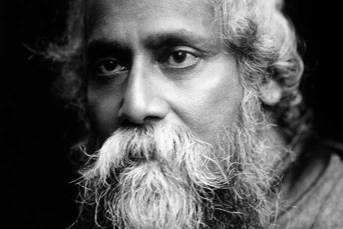 « Je ne laisserai jamais le patriotisme triompher sur l'humanité aussi longtemps que je vis », écrivait en 1908 celui à qui le nationalisme répugnait tant avant d'être trahi par l'Histoire (Photo:Rabindranath Tagore,1861-1941).