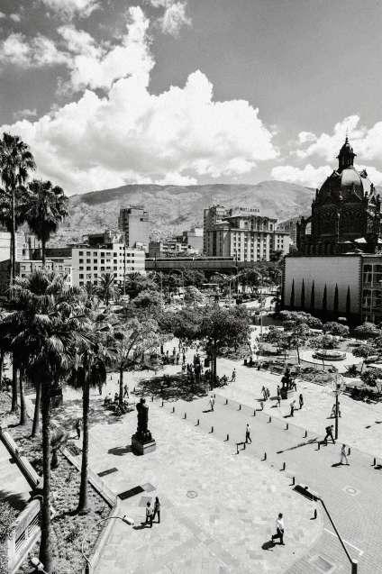 La place Botero.