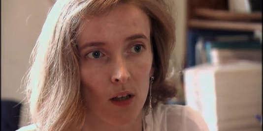Marie Peltier, historienne, chercheuse et enseignante à l'Institut de pédagogie de Bruxelles.