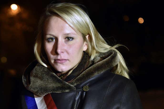 Marion Marechal-Le Pen, à Moscou, le 16 novembre.