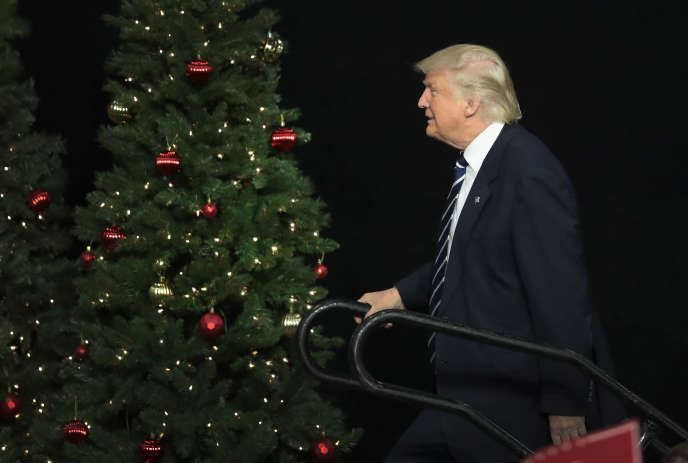 Donald Trump, le 13 décembre à West Allis (Wisconsin).