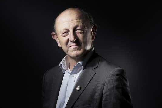Jean-Luc Bennahmias, candidat Front démocrate à la primaire à gauche, le 11 octobre 2016.