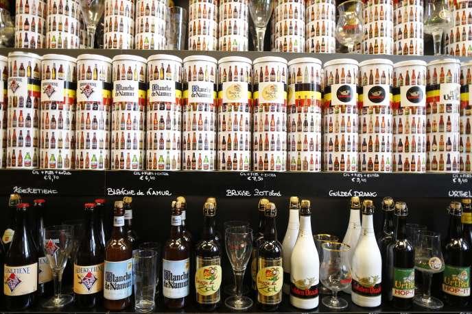 La Belgique produit environ 18 millions d'hectolitres de bière par an.