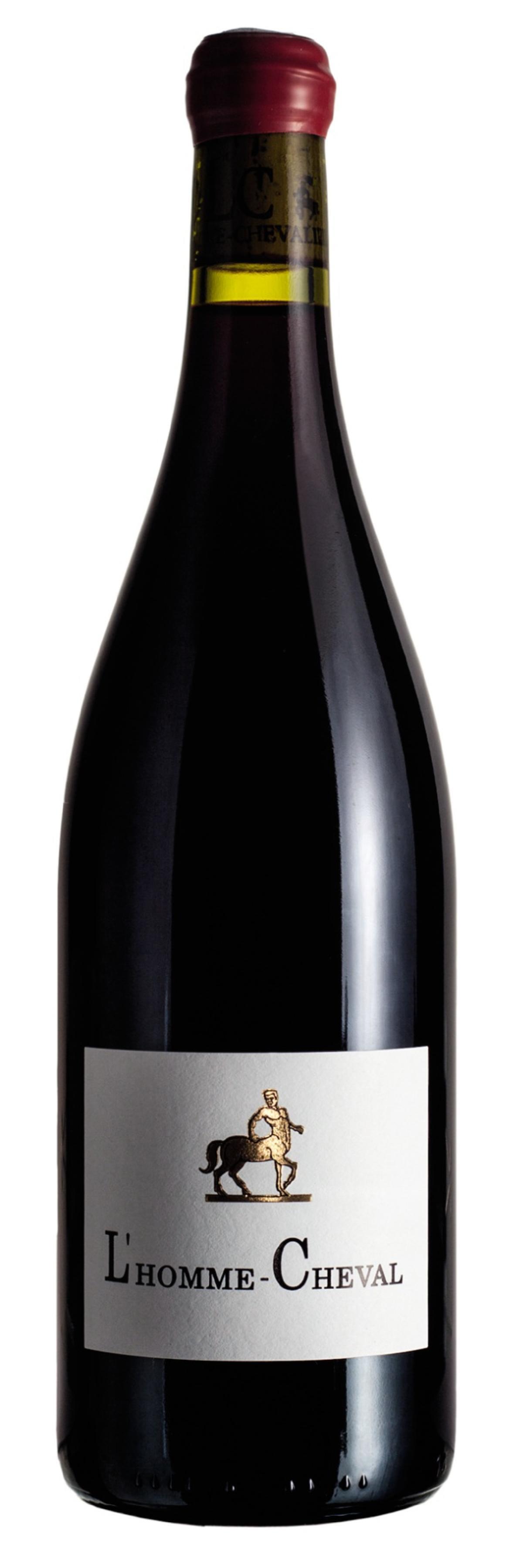 Un vin de France, nommé L'Homme-Cheval du domaineLéandre-Chevalier.