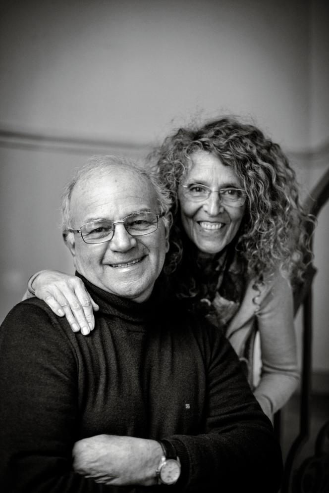 Bénédicte et Michel Bachès, chercheurs d'agrumes à Eus (Pyrénées-Orientales).