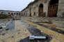 La grande mosquée d'Alep, reprise par les troupes gouvernementales syriennes le 13 décembre.