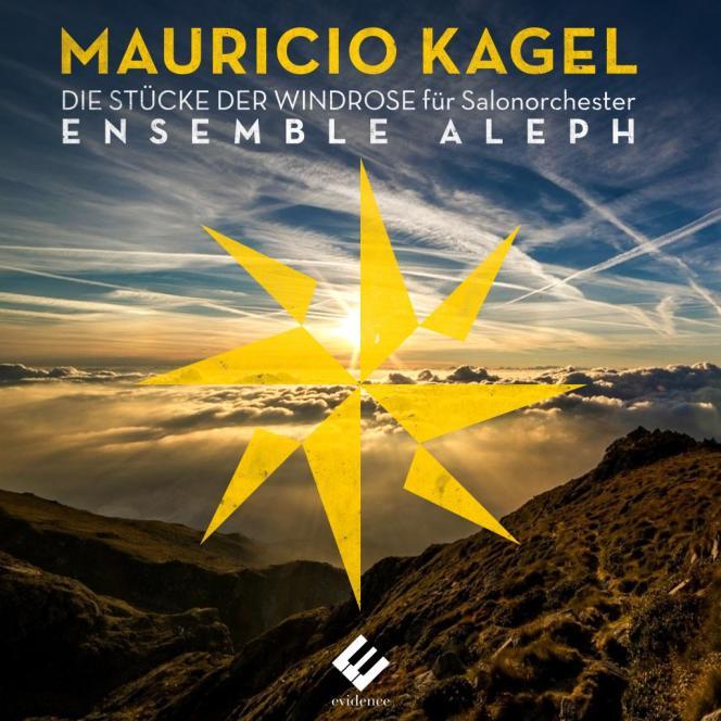 Pochette de l'album «La Rose des vents», de Mauricio Kagel par l'ensemble Aleph.