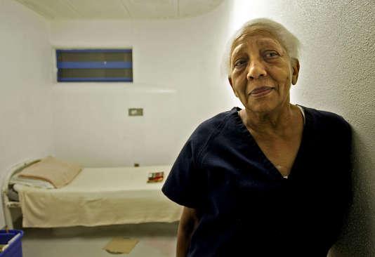 Doris Payne en prison à Las Vegas en 2005.
