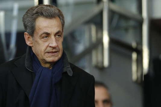 Nicolas Sarkozy, le 19 novembre à Paris.