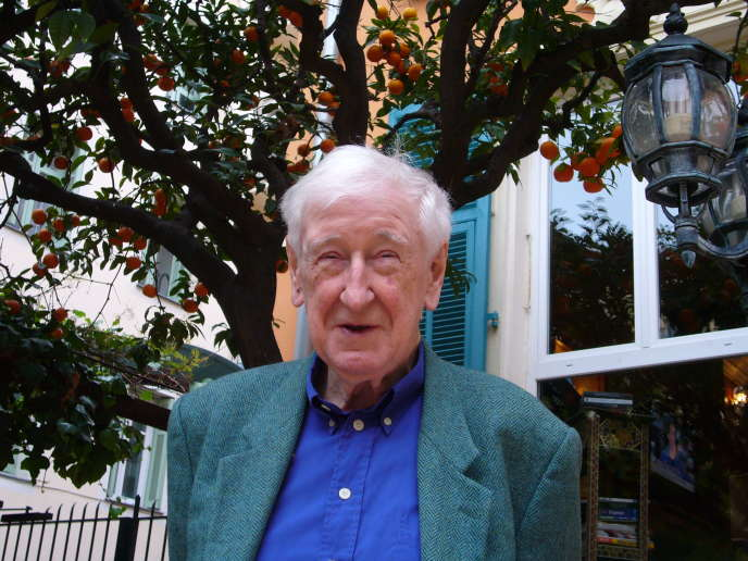 John Montague en 2014.