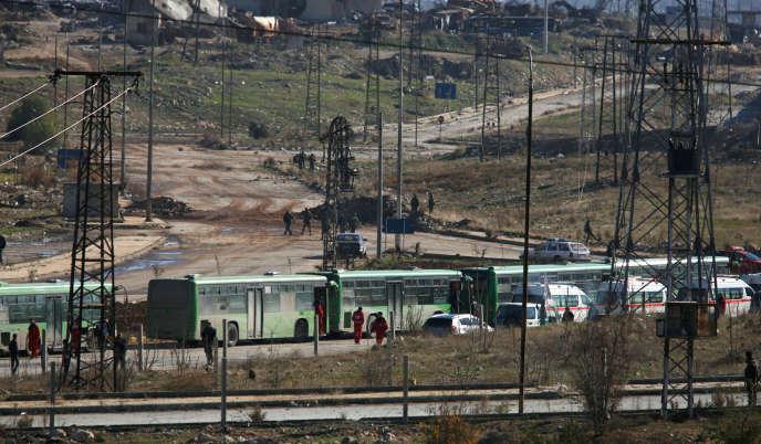 A Alep, le 15 décembre.